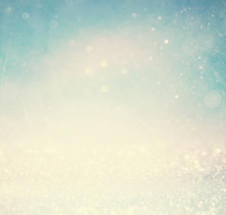 staub: abstrakte verschwommene Foto von Bokeh Licht Burst und Texturen. bunten Licht.