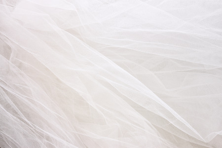 fashion jewellery: Vintage tulle chiffon texture background. wedding concept
