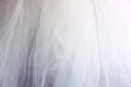 chiffon: Vintage tulle chiffon texture background. wedding concept