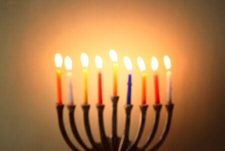 chanukah: image of jewish holiday Hanukkah