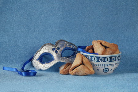 megillah: Purim celebration concept jewish carnival holiday. selective focus Stock Photo