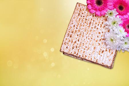 matzoth: Pesah celebration concept jewish Passover holiday