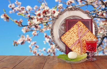 jewish background: Pesah celebration concept jewish Passover holiday