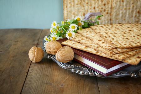 comidas: Pesah concepto de la celebración de la Pascua judía vacaciones