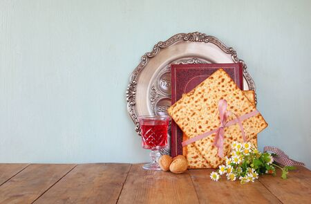 jewish background: Pesah celebration concept (jewish Passover holiday)