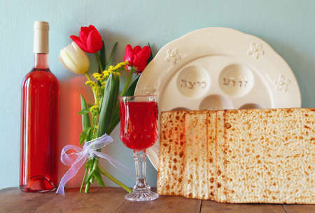 jewish festival: Pesah celebration concept (jewish Passover holiday)