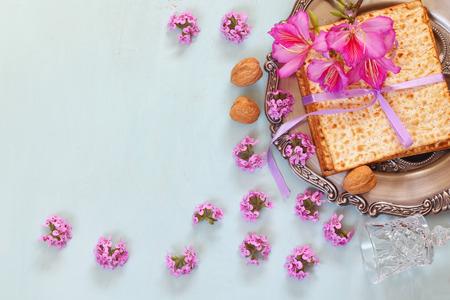 jewish background: Pesah celebration concept (jewish Passover holiday)