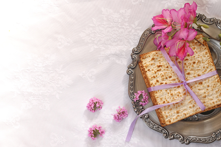 meal: Pesah celebration concept (jewish Passover holiday)