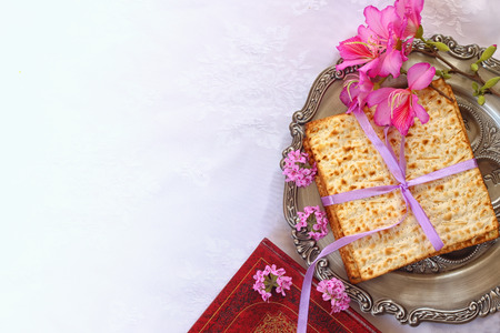 matzoth: Pesah celebration concept (jewish Passover holiday)