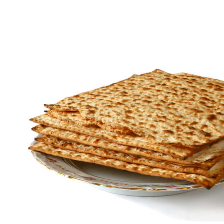 pesah: Pesah celebration concept (jewish Passover holiday). isolated on white