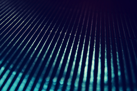 metallic background: metallic glitter vintage lights background. blue, silver and black. defocused.