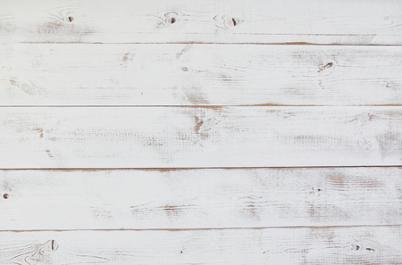 white board: Grunge vintage white wooden board  background. Stock Photo