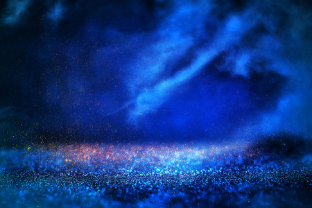 abstract night sky with clouds background.