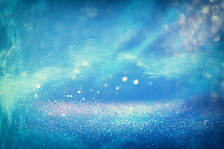 underwater ocean: abstract under the sea background with glitter overlay and textures. aqua, blue and turquoise. defocused