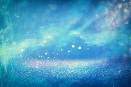 turquesa: abstracta del mar de fondo con una capa de brillo y texturas. aguamarina, azul y turquesa. desenfocado