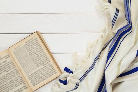tallit: Prayer Shawl - Tallit, jewish religious symbol