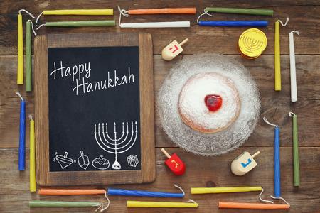 jewish: Image of jewish holiday Hanukkah.