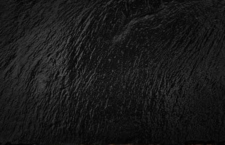 natural black slate background.
