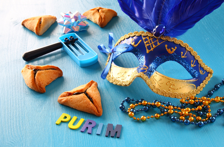 megillah: Purim celebration concept (jewish carnival holiday)