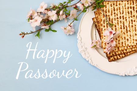 Pesah celebration concept (jewish Passover holiday). Stockfoto