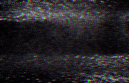 Test Screen Glitch Texture.