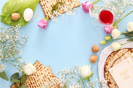 Pesah viering concept (joodse Pesach vakantie)