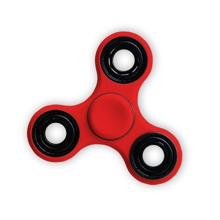 Spinner stress verlicht speelgoed geïsoleerd op op wit