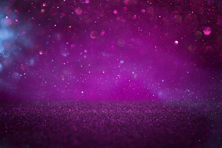 Purple glitter lights background. defocused Stock fotó - 91010900