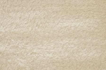 Background of white shaggy blanket texture
