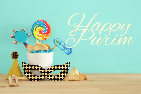 Purim celebration concept (jewish carnival holiday)