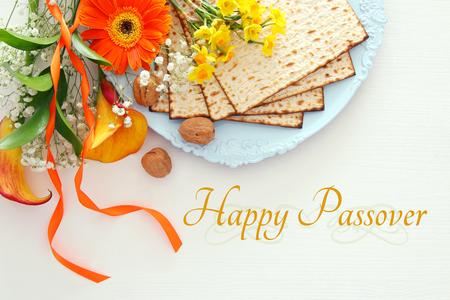 Pesah celebration concept (jewish Passover holiday) Banco de Imagens - 96635296