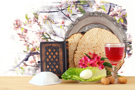 Pesah celebration concept (jewish Passover holiday)