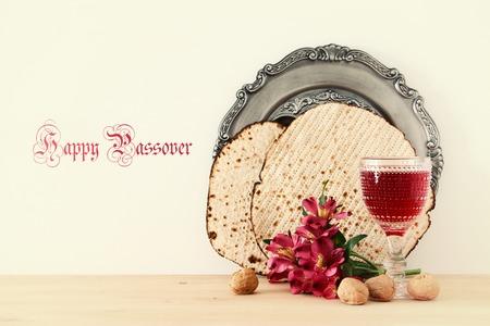 Pesah celebration concept (jewish Passover holiday) Reklamní fotografie - 97137492