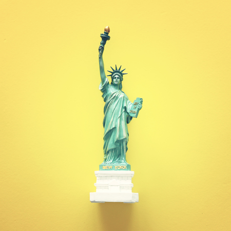 American symbol Statue of Liberty Stock Photo