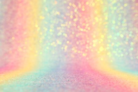 background of abstract glitter lights. multicilor blue, pink, gold, purple and mint. de focused Stok Fotoğraf