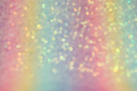 background of abstract glitter lights. multicilor blue, pink, gold, purple and mint. de focused. banner