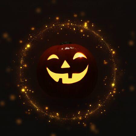 holidays halloween concept image of cute Pumpkin