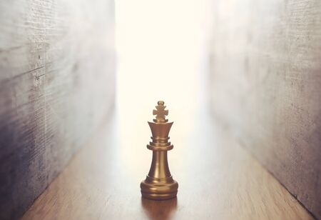 Image of chess game. Business, competition, strategy, leadership and success Archivio Fotografico