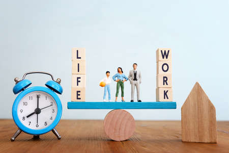 work and life - finding the right balanace concept