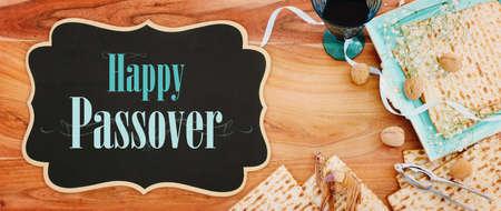 Pesah celebration concept (jewish Passover holiday). 版權商用圖片