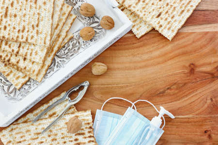 Pesah celebration image (jewish Passover holiday).