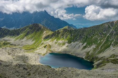タトラ山脈のパノラマ、ポーランドの風景。 写真素材