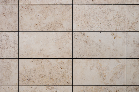 travertine (limestone) walling panel pattern Banco de Imagens