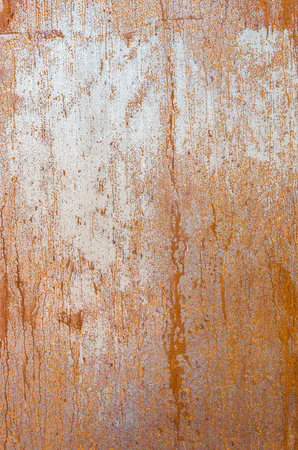 Rusty walling panel made of corten steel - weathering steel sheet