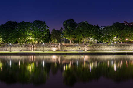 Krakow, Poland, Vistula riverbank