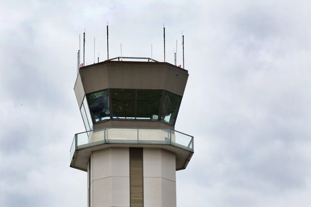 faa: FAA control tower at the Buffalo Niagara International Airport, in Buffalo, NY. Editorial