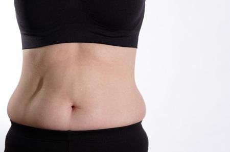 bulge: Woman Belly Bulge Front View