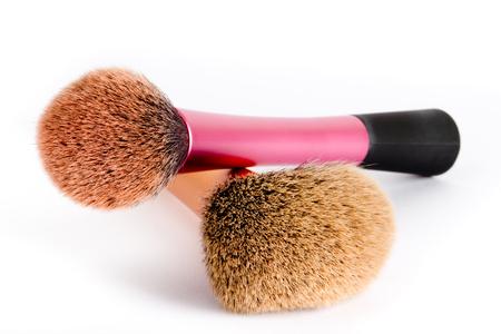 make up brushes: Two make up brushes