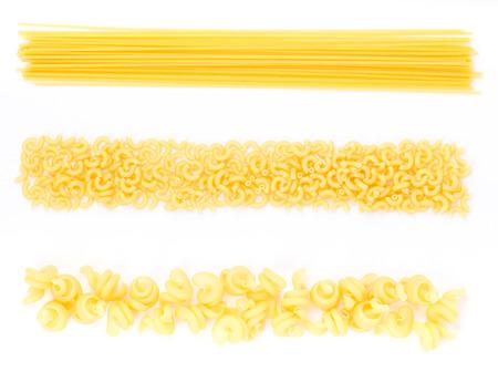 Bestimmte Arten von Pasta Standard-Bild - 26372139