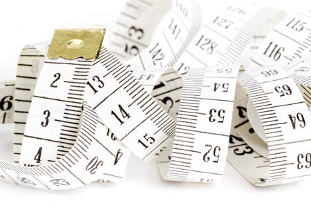 Tape measure Standard-Bild